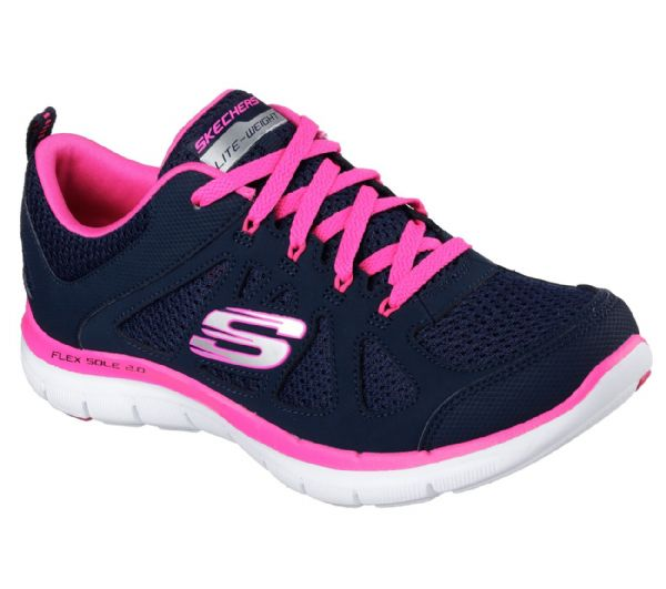 Skechers Flex appeal laced navy